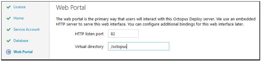 octopus setup